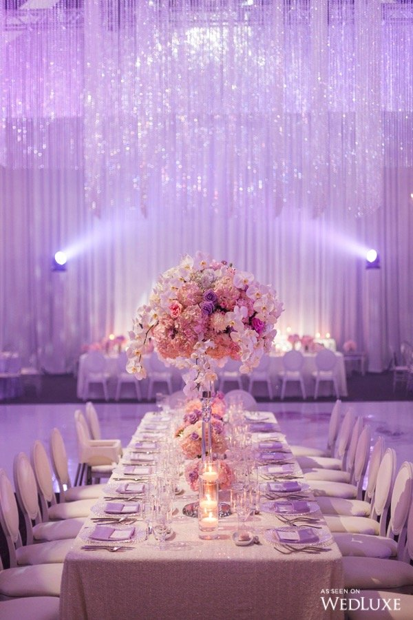 A Dreamy Lilac And Silver Wedding Wedluxe Magazine